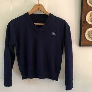 Vintage Lacoste V Neck Sweater